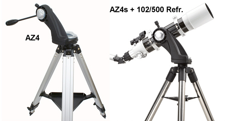 Sky watcher az alt azimuth montierung inkl stativ teleskop