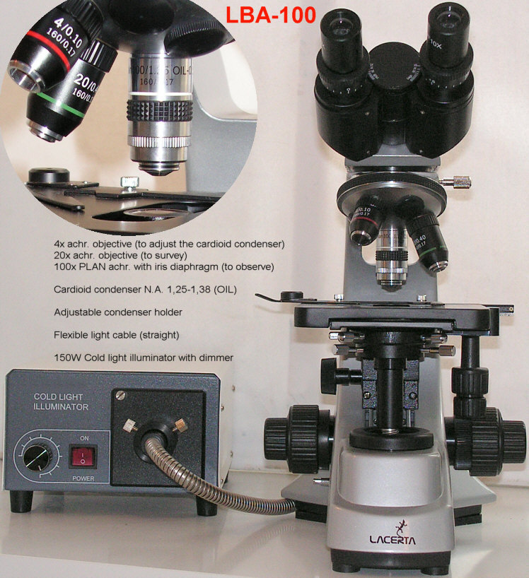 DISCONTINUED SOON: LBA (Live Blood Analysis) Darkfield Microscope