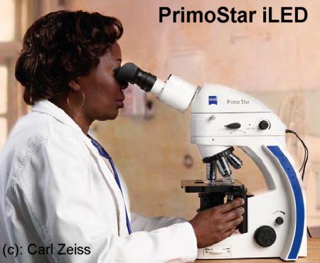 PrimoStar iLED Fluorescence-microscope