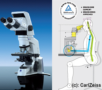 Zeiss AxioLab A1 Microscope
