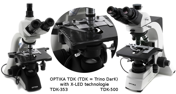 OPTIKA (Italy) TDK Darkfield Microscope