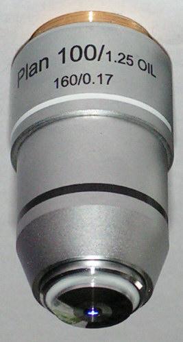 SemiPlan & Aplanat Microscope-Objectiv (160mm)