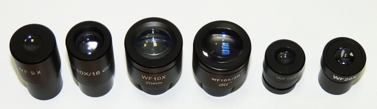 Eyepieces for Microscopes (23,2mm)