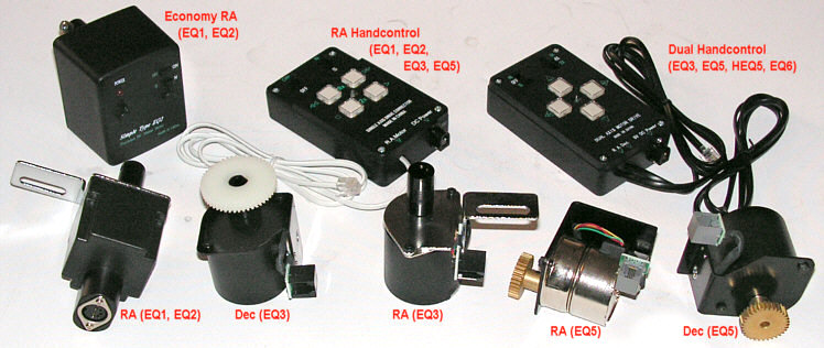 RA �s DualAx motoros vez�rl�s