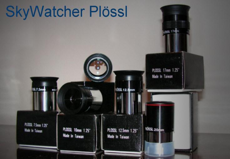 SkyWatcher Plossl Eyepieces