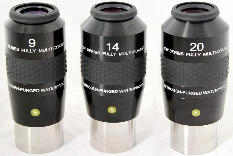 Explore Scientific 100 Grad Eyepieces