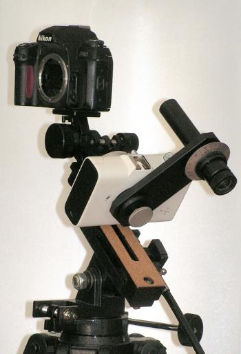 Off Axis Polarscope-holder for Vixen Polarie