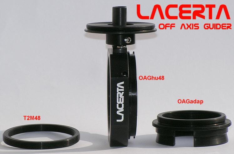 LACERTA Off Axis Guider ohne zusätzlichen Lichtweg