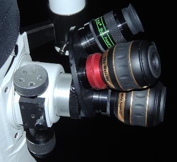 LACERTA Eyepiece turret