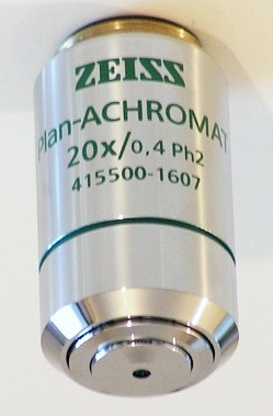 Lacerta Z-plan20xPh Zeiss